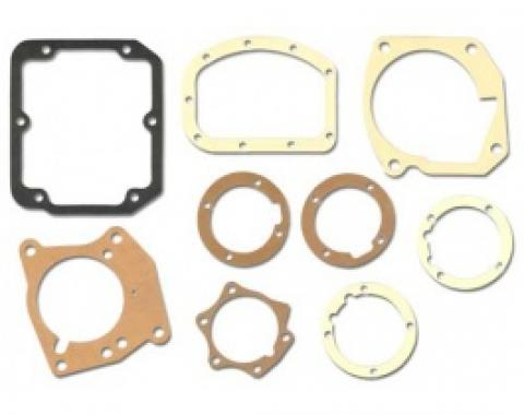 Ford Thunderbird Transmission Gasket Set, 9 Pieces, 3 Speed Manual Or Overdrive, 1958-60