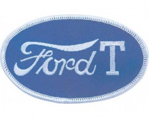 Cloth Patch, Oval Ford Model T Emblem