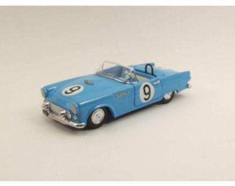Thunderbird Model, #9 Racecar, Die-Cast, 1:43 Scale, 1955