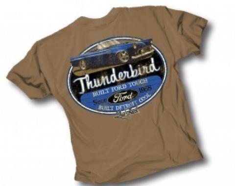 Laid Back Bridger Thunderbird Chill T-Shirt, Chocolate