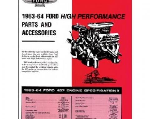 Ford 427 High-Performance Engine Parts & Accessories Folder