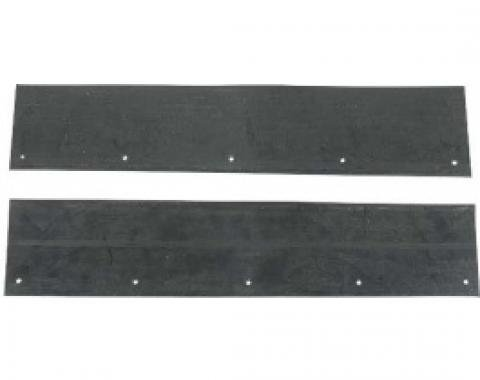 Ford Thunderbird Vertical Seals On The Sides Of The Radiator, 1964-66