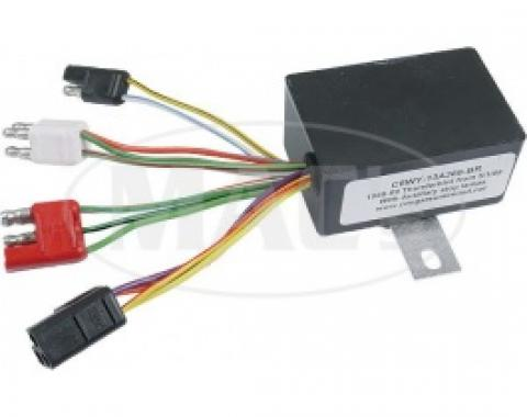 SEQUENTIAL RELAY - With Auxiliary Stop Lamps - Fro