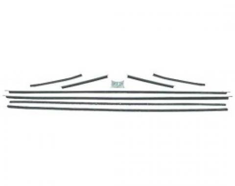 Ford Thunderbird Belt Weatherstrip Kit, 8 Pieces, Coupe, 1961-63