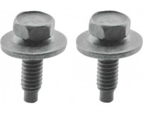 Ford Thunderbird Front License Plate Bracket Bolt Set, 1966
