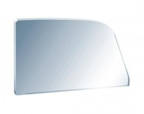 Door glass - 55-57 Ford Thunderbird - Light grey, light smoke