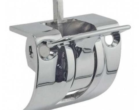 Ford Thunderbird Convertible Top Latch Assembly, Includes Chrome Handle & J Hook, 1964-66