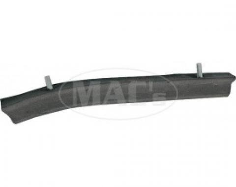 Ford Thunderbird Soft Top Side Rail Seal, Right Center, 1955-57