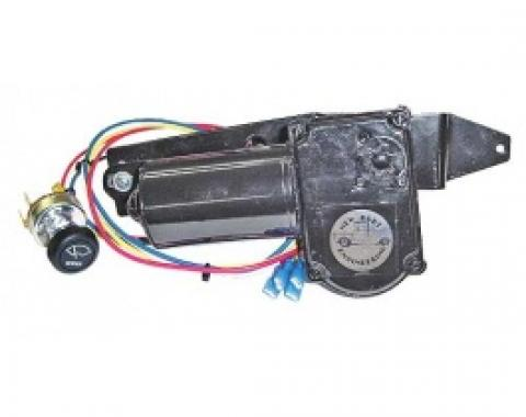 Ford Thunderbird Windshield Wiper Motor Kit, Includes Motor & Wiring & A New Switch, 1958-60