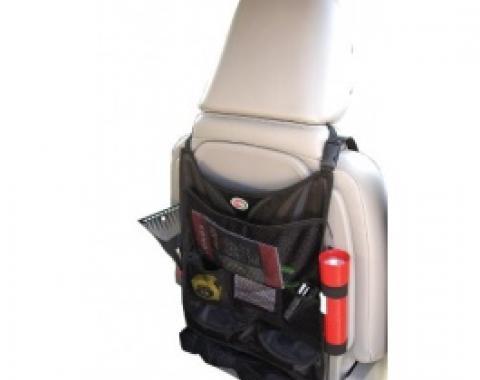 Seat Back Vehicle Organizer, Black