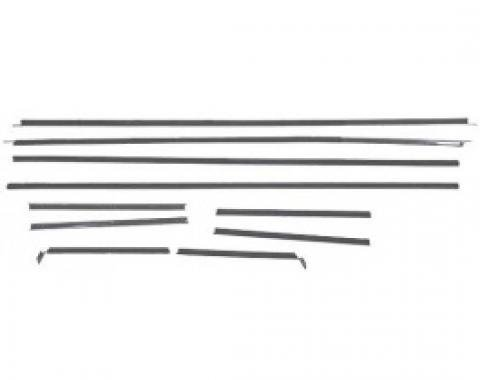 Ford Thunderbird Belt Weatherstrip Kit, 10 Pieces, Convertible, 1961-63