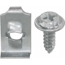 Ford Thunderbird Top Grille Moulding Hardware Kit, 1966
