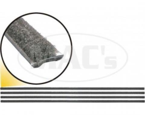 Ford Thunderbird Belt Weatherstrip Set, Inner & Outer, Original Type, Clips Included, 1955-57