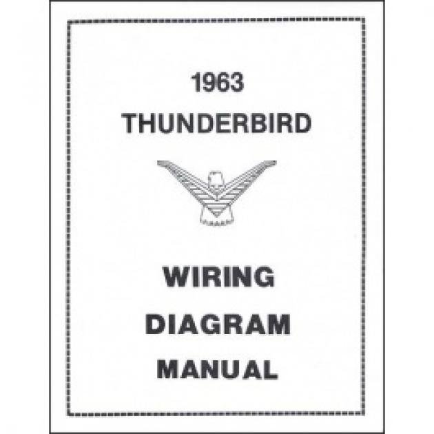Thunderbird Wiring Diagram Manual  17 Pages  1963