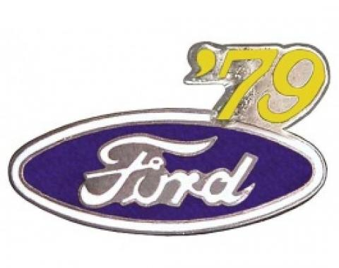 Hat Pin, Ford Oval With '79