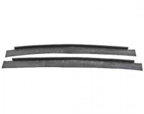 Ford Thunderbird Rear Bumper Stone Deflector Seals, 1958-60