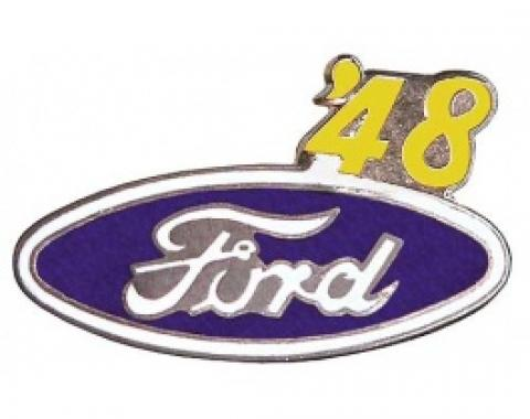 Hat Pin, Ford Oval With '48