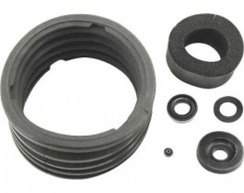 Ford Thunderbird Power Brake Booster Rebuild Kit, Under Dash Kelsey-Hayes Bellows Type, 1958-60