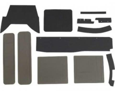 Ford Thunderbird Heater Box Seal Kit, With A/C, 7 Pieces, 1958-60