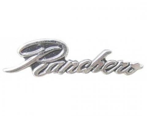 Hat Pin, Ranchero Script