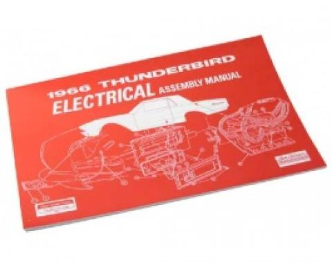 1966 Thunderbird Electrical Assembly Manual, 93 Pages