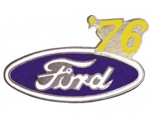 Hat Pin, Ford Oval With '76