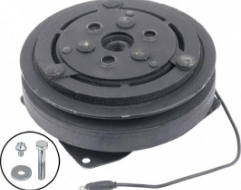 Ford Thunderbird Air Conditioner Compressor Clutch, Remanufactured, 6 Diameter Single Groove Pulley, 1965-66