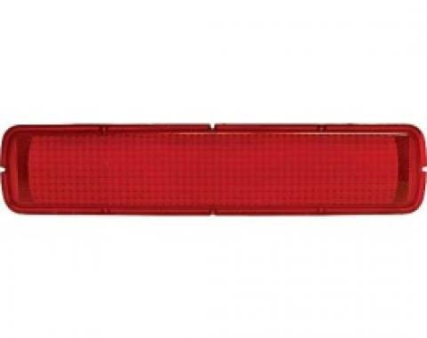 Ford Thunderbird Tail Light Lens, Red, With FoMoCo logo, Right Or Left, 1965