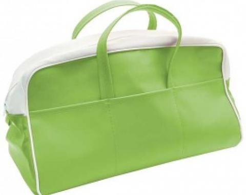 Ford Thunderbird Tote Bag, Green & White, 1956