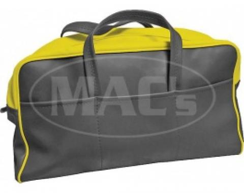 Ford Thunderbird Tote Bag, Yellow & Black, 1955