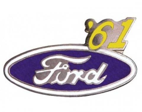 Hat Pin, Ford Oval With '61