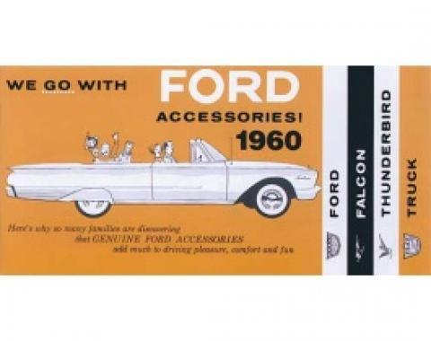 Accessories Brochure, Thunderbird, Falcon & Trucks, 1960