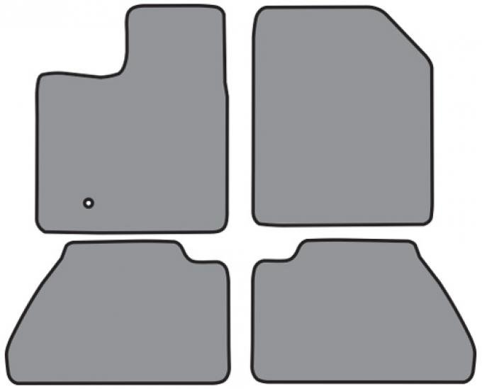 ACC  Ford Edge Floor Mat 4pc (FO462 FO462R) Cutpile, 2007-2010