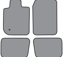 ACC  Mercury Mountaineer 4DR Floor Mat 4pc (FM306 FM306R) Cutpile, 2002-2005