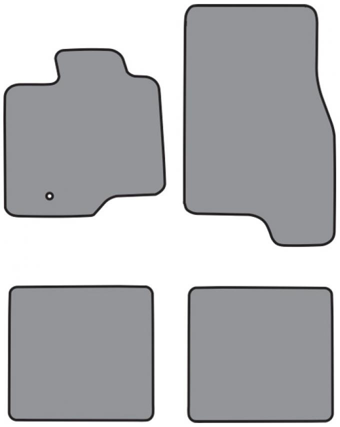 ACC  Ford Expedition Floor Mat 4pc (P618 P618R) Cutpile, 2003-2006