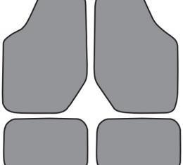 ACC  Mercury Sable Floor Mat 4pc (FM67 FM67R) Cutpile, 1996-2005