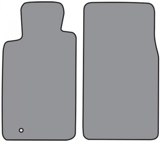 ACC  Ford Thunderbird Floor Mat Frt Row 2pc (FM396F) Cutpile, 2002-2005