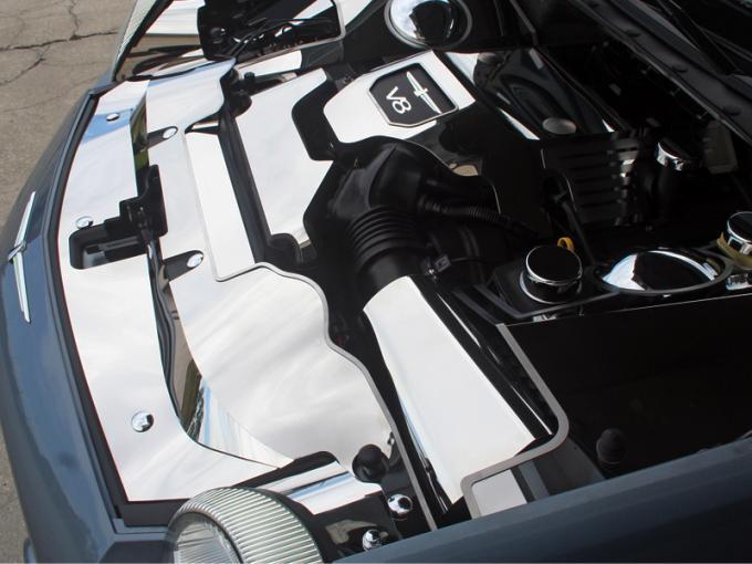 2003-2005 Thunderbird 3.9L V8 - Air Filter Cover - Stainless Steel, Choose Finish 503003