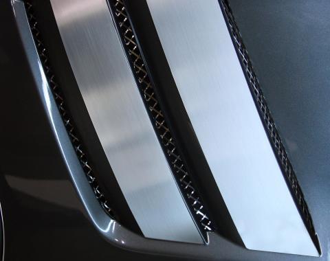 American Car Craft Fender Trim Plates Satin 042083