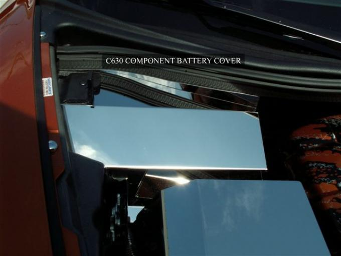 American Car Craft Battery Cover Polished C6 08-13 043007