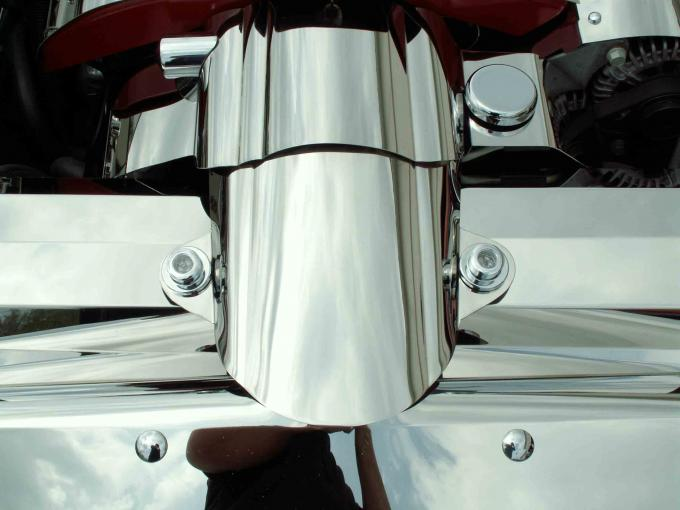 American Car Craft Air Tube Cover Polished Component C6 043038