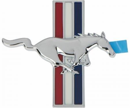 Mustang Fender Emblem, Tri-Bar Running Horse, Right, 1999-2004