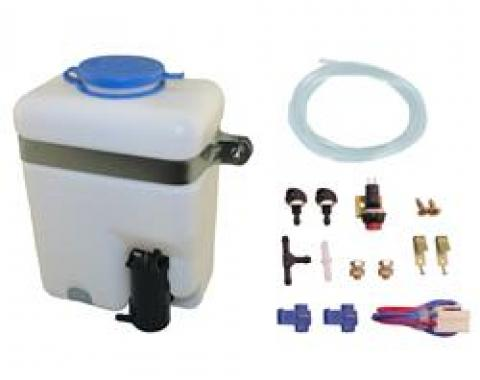 Universal Windshield Washer Pump & Reservoir Kit