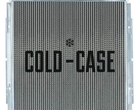 Cold Case Radiators 63-66 Mustang MT 5.0 Aluminum Performance Radiator FOM564-5