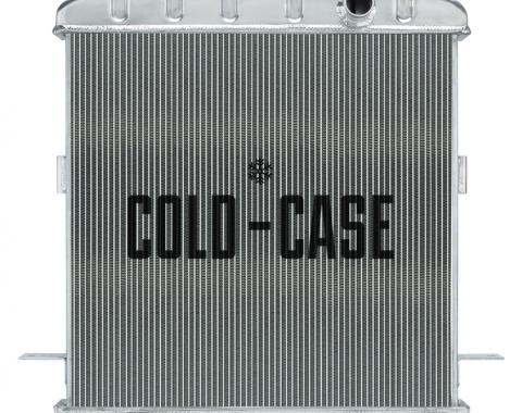 Cold Case Radiators 39-41 Ford Deluxe w/ Ford Engine Aluminum Radiator STF911A