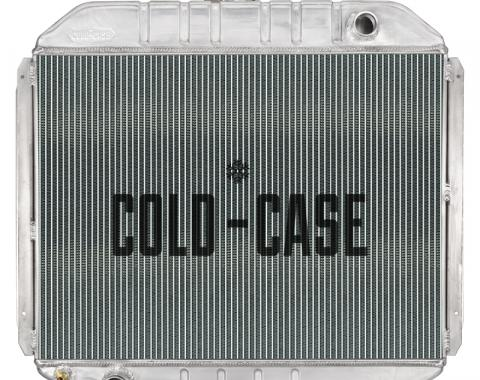 Cold Case Radiators 66-79 Ford Bronco Coyote Swap Aluminum Radiator Cold Case Radiator FOT575-5