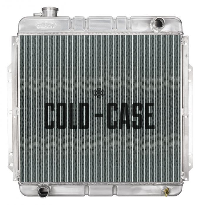 Cold Case Radiators 53-56 Ford F Series Coyote Swap Aluminum Performance Radiator FOT576-5