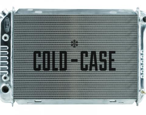 Cold Case Radiators 87-93 Mustang Fox Body Aluminum Radiator Automatic Transmission LMM570A