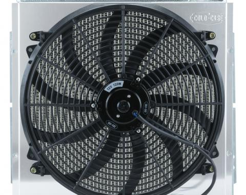Cold Case Radiators Mustang Aluminum Radiator and 16 Inch Fan Kit 64-66 Mustang 5.0 Auto FOM564A-5K