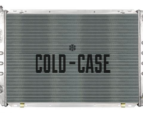 Cold Case Radiators 80-84 Ford Bronco/F-Series Truck Coyote Swap Aluminum Radiator FOT578-5